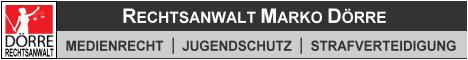 Banner: Jugenschutzbeauftragter Rechtsanwalt Dörre