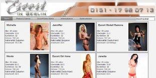 Escort Ladies Berlin: Escortservice Adresse escortinberlin.de