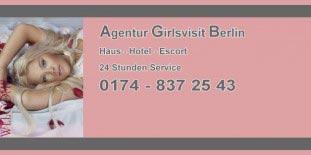 Escort Ladies Berlin: Escortservice Adresse girlsvisit.de