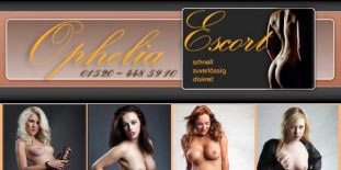 Bild: ophelia-escort.de Unterhaltungsdamen Hostessen Callgirls